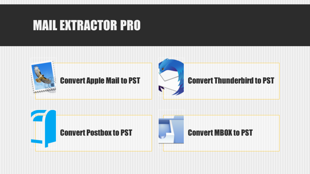 Mac Mail Export MBOX to PST Converter
