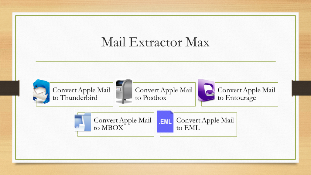 apple mail to thunderbird