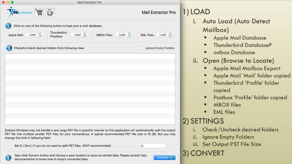Mac Mail EMLX to PST