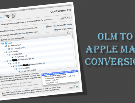 The concise way to OLM to Apple mail conversion without fail
